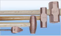 純銅ハンマー・工具イメージ